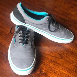 Men's Van Sneakers Size 11 Gray